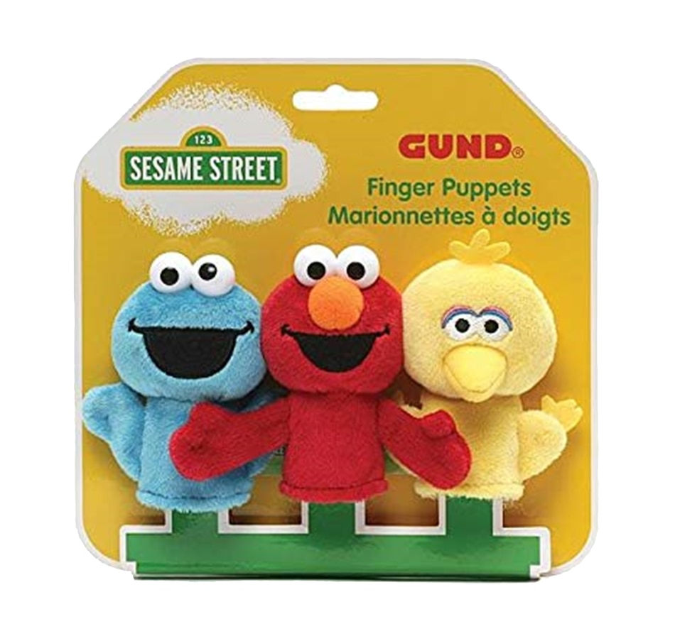 Image 625682.jpg , Product 625-682 / Price $34.99 , GUND Sesame Street Finger Puppets from Gund on TSC.ca's Coins & Hobbies department