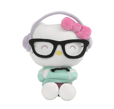 "Gund Hello Kitty Kawaii Style with Hip Headphone (9.5"")"