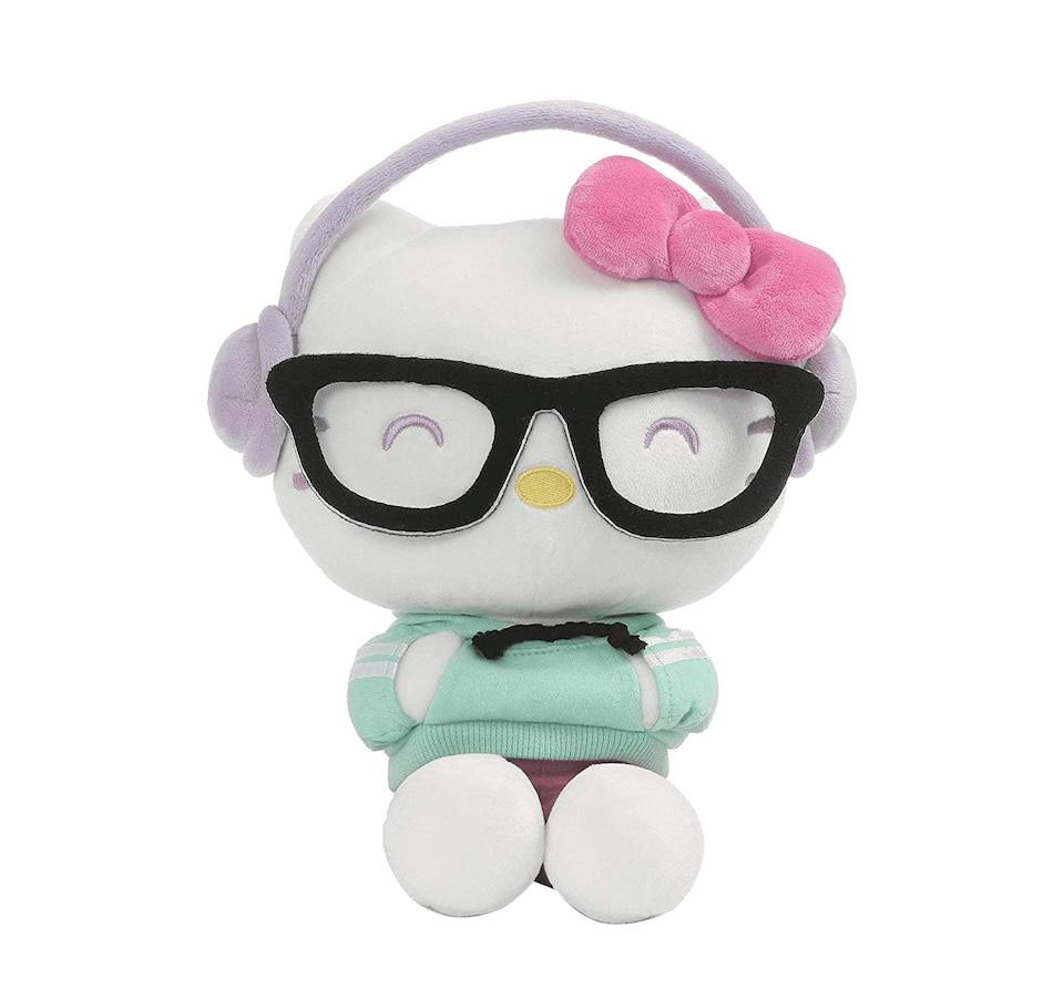 "Image 625935.jpg , Product 625-935 / Price $43.99 , Gund Hello Kitty Kawaii Style with Hip Headphone (9.5"") from Gund on TSC.ca's Coins & Hobbies department"