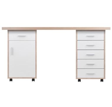 Winsome Kenner 3-Piece Modular Desk Set