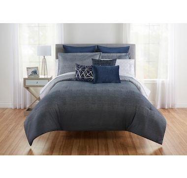 Beco Home Keating Jacquard Reversible Comforter Set