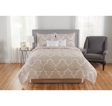 Beco Home Laurel Geometric 7-Piece Comforter Set