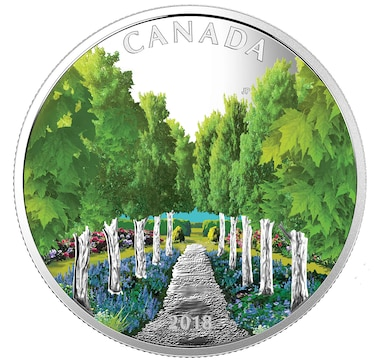 $20 Fine Silver Coin Maple Tree Tunnel