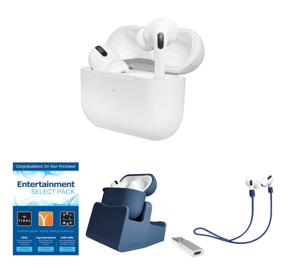 Image 630373_BLU.jpg , Product 630-373 / Price $379.99 , Apple AirPods Pro In-Ear Noise Cancelling Truly Wireless Headphones Bundle from Apple on TSC.ca's Electronics department