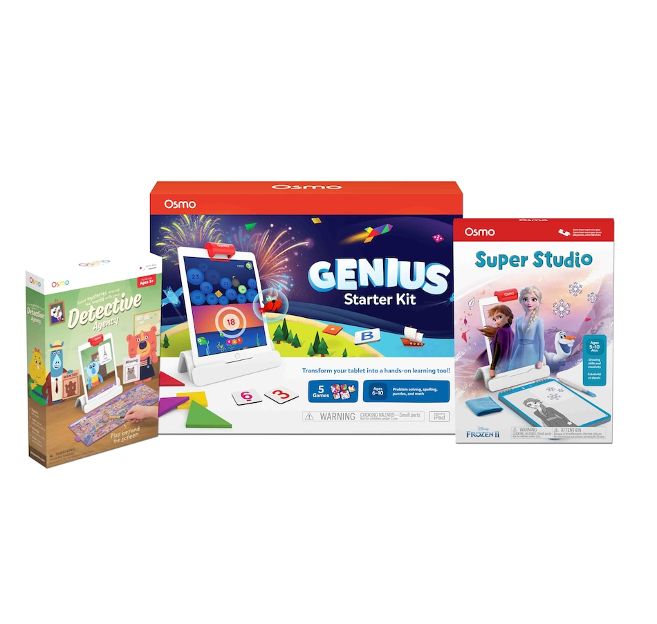 Image 630389.jpg , Product 630-389 / Price $229.99 , Osmo Genius Kit + Detective Agency + Super Studio Frozen 2  on TSC.ca's Electronics department
