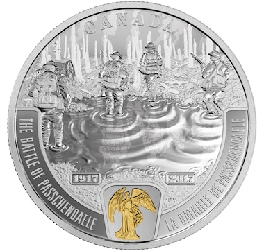 $20 Fine Silver Coin The Battle of Passchendaele