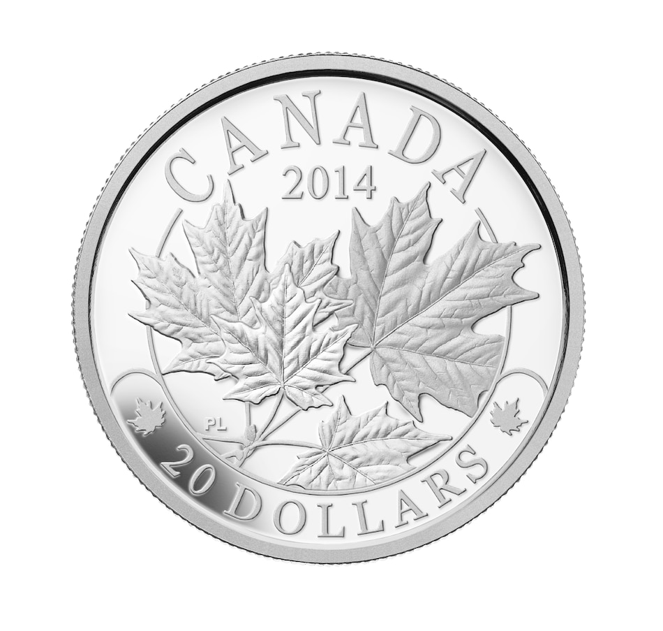 Image 630601.jpg , Product 630-601 / Price $89.95 , $20 Fine Silver Coin: The Majestic Maple Leaf from Royal Canadian Mint on TSC.ca's Coins department