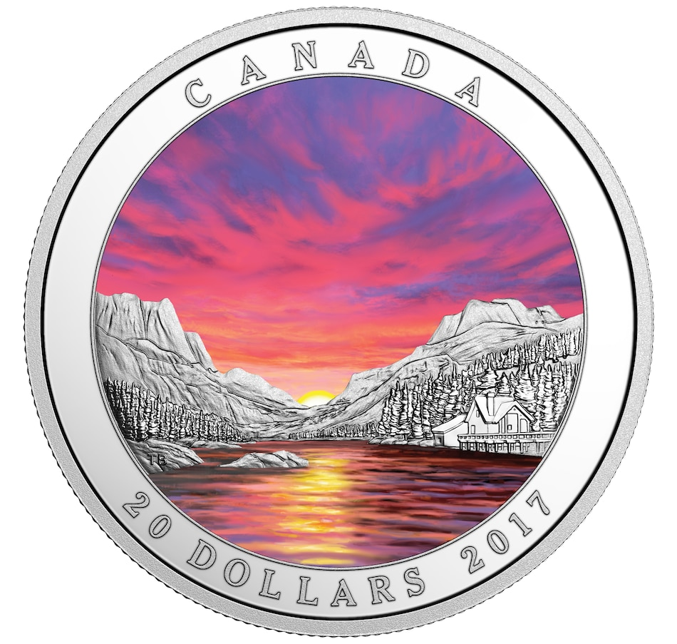 Image 630625.jpg , Product 630-625 / Price $161.95 , $20 Fiery Sky Fine Silver Coin 2017 from Royal Canadian Mint on TSC.ca's Coins department