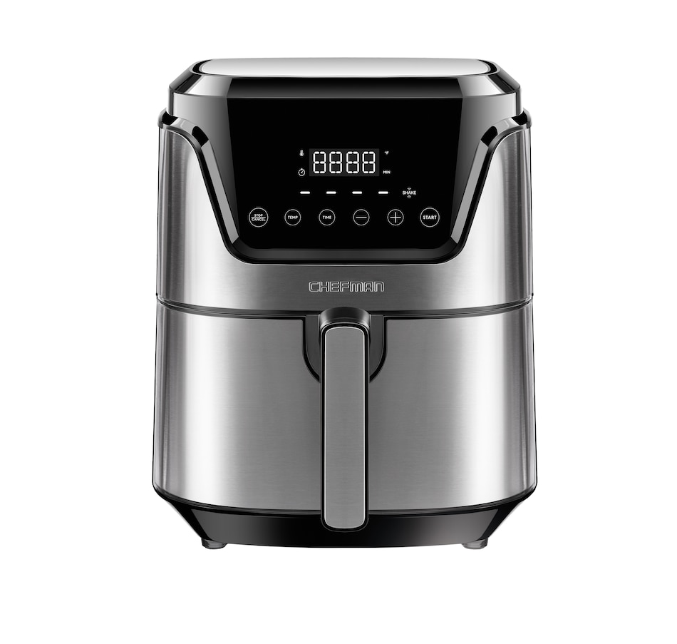 Image 630698.jpg , Product 630-698 / Price $149.99 , Chefman 4.5-Quart Square Air Fryer with Rapid-Air System from Chefman on TSC.ca's Kitchen department