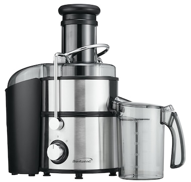 Brentwood 800W Stainless Steel Juicer