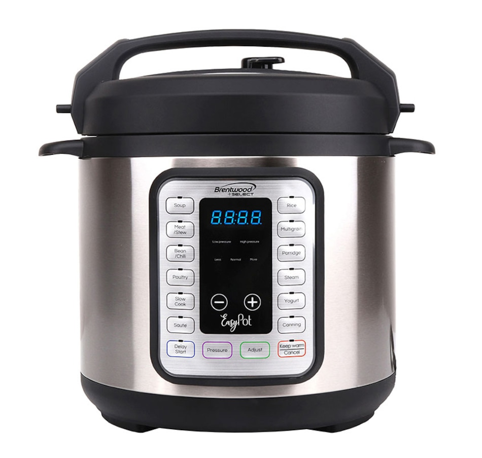 Image 630913.jpg , Product 630-913 / Price $159.99 , Brentwood Select Easy Pot 8-In-1 Pressure Cooker from Brentwood Appliances on TSC.ca's Kitchen department