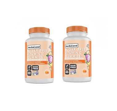 Herbaland Sugar-Free Vitamin C Duo 90-Day Supply