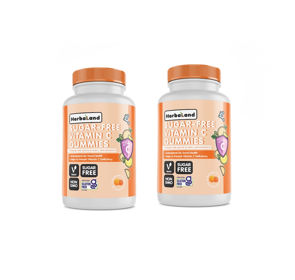Image 631073.jpg , Product 631-073 / Price $30.00 , Herbaland Sugar-Free Vitamin C Duo 90-Day Supply from Herbaland Naturals on TSC.ca's Health & Fitness department
