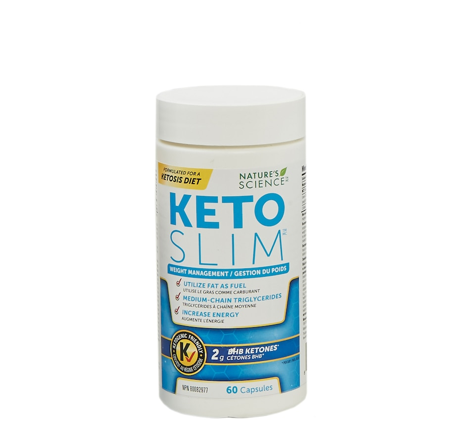 Image 631585.jpg , Product 631-585 / Price $35.00 , Keto Made Convenient Nature's Science Keto Slim Supplement (60 capsules) from Keto Made Convenient on TSC.ca's Health & Fitness department