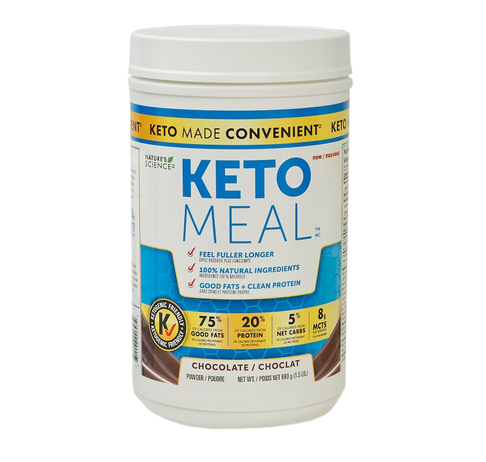 Image 631586_CHO.jpg , Product 631-586 / Price $55.00 , Keto Made Convenient Nature's Science Keto Meal - Vanilla (1.5 lbs) from Keto Made Convenient on TSC.ca's Health & Fitness department