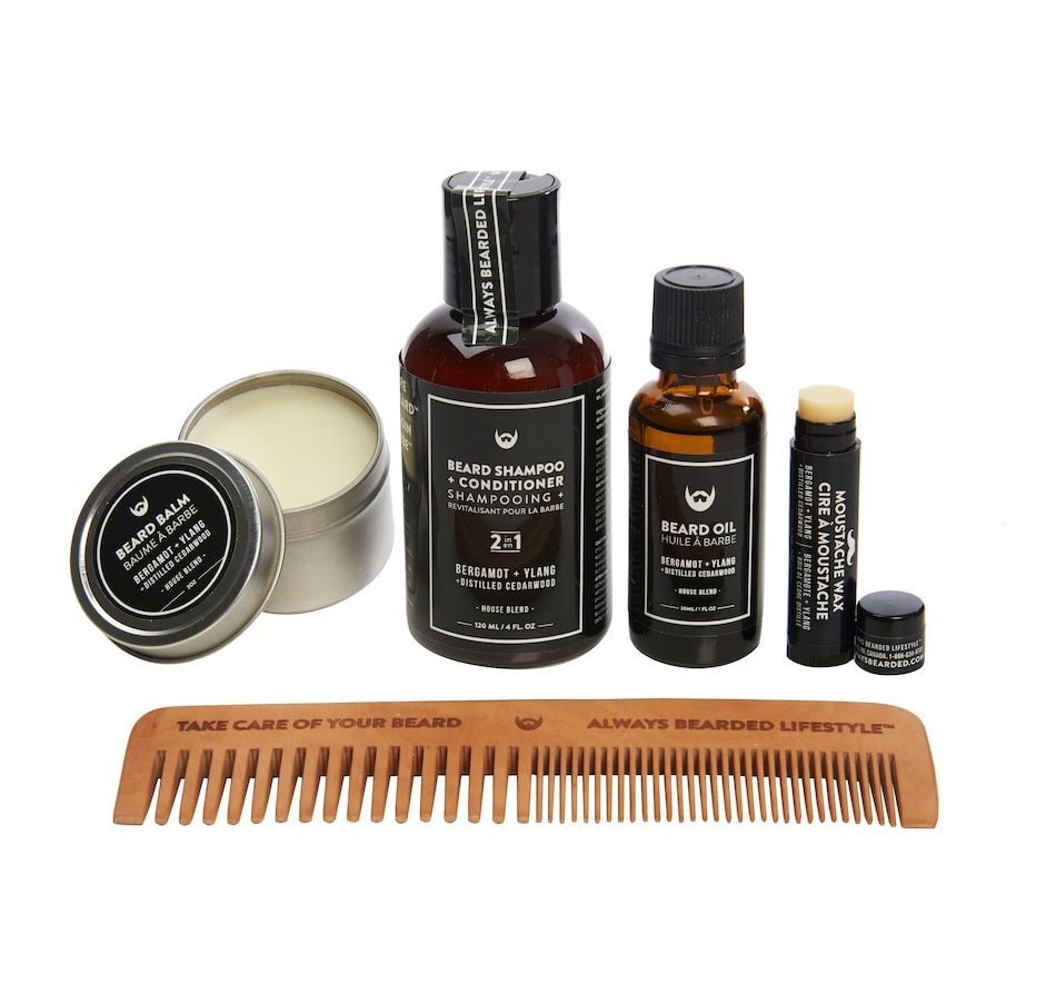 Image 631666_BERG.jpg , Product 631-666 / Price $68.00 , Always Bearded Beard Grooming Kit from ALWAYS BEARDED on TSC.ca's Beauty department