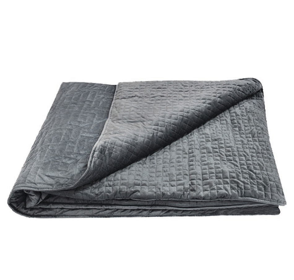 """Image 631841_GGY.jpg , Product 631-841 / Price $299.99 - $369.99 , icozy HeavyHug Weighted Blanket (60"""" x 80"""") from Icozy on TSC.ca's Home & Garden department"""