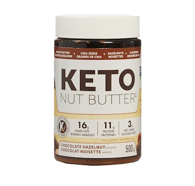 Keto Made Convenient Nature's Science Keto Nut Butter