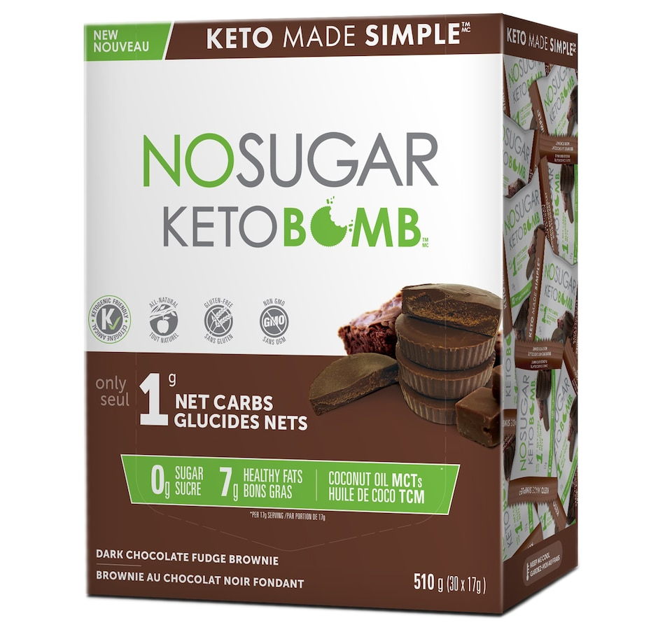 Image 631914_FBN.jpg , Product 631-914 / Price $36.00 , Keto Made Simple No Sugar Keto Bomb from Keto Made Convenient on TSC.ca's Health & Fitness department