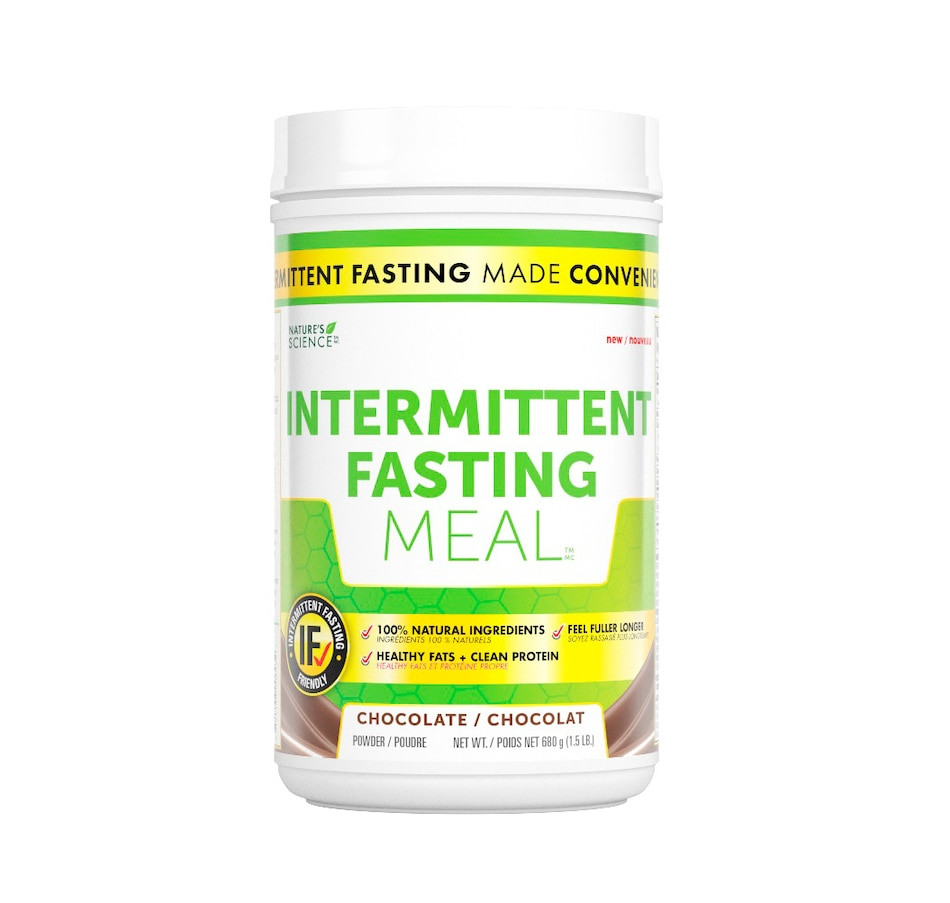 Image 631942_CHO.jpg , Product 631-942 / Price $55.00 , Nature's Science Intermittent Fasting Meal from Keto Made Convenient on TSC.ca's Health & Fitness department