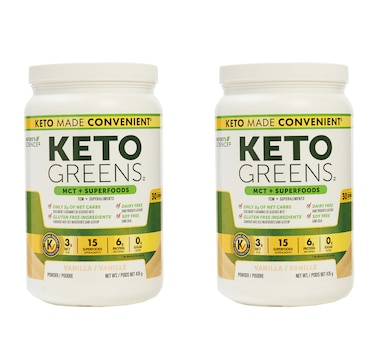 Keto Made Convenient Nature's Science Keto Greens Duo