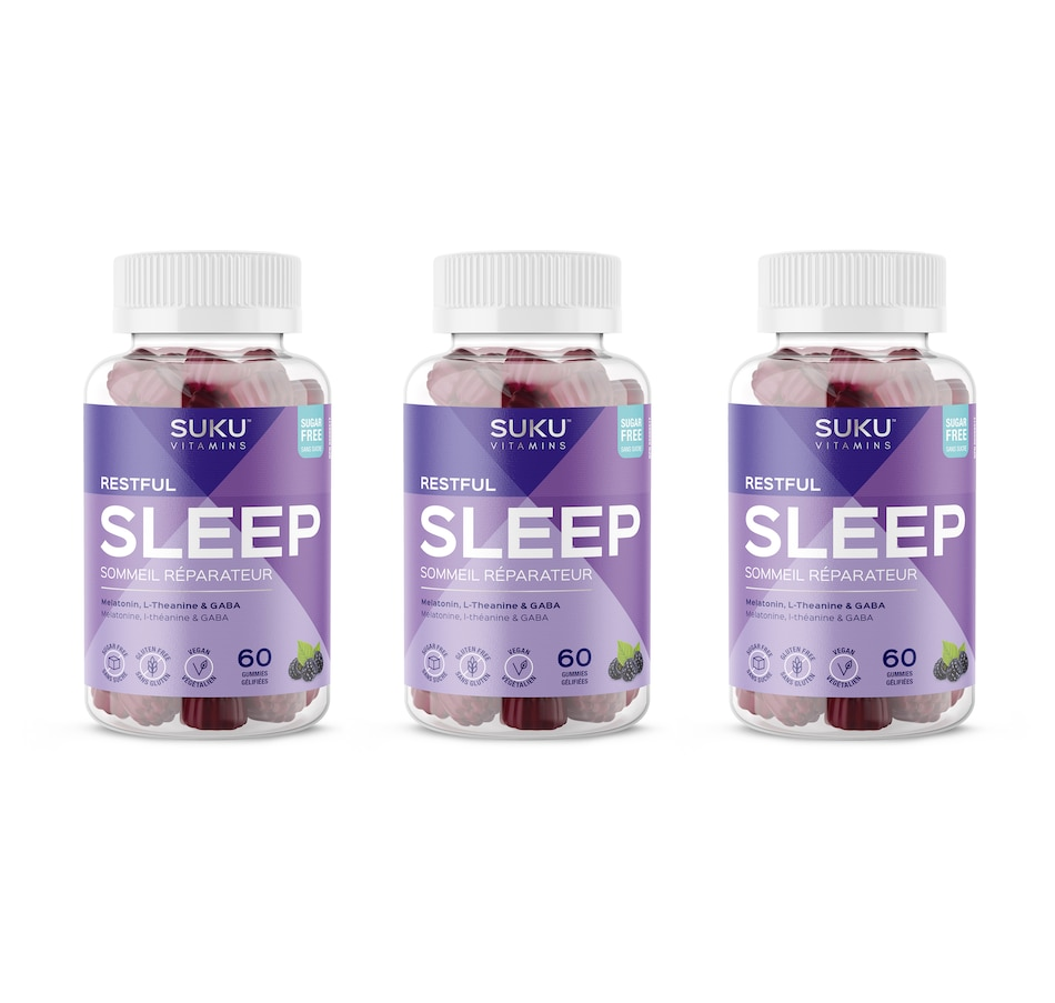 Image 632111.jpg , Product 632-111 / Price $56.99 , SUKU Restful Sleep Gummies 90-Day Supply from SUKU Vitamins on TSC.ca's Health & Fitness department