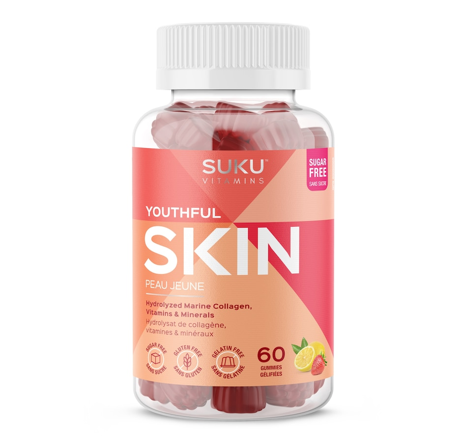 Image 632112.jpg , Product 632-112 / Price $20.49 , SUKU Youthful Skin Gummies 30-Day Supply from SUKU Vitamins on TSC.ca's Health & Fitness department
