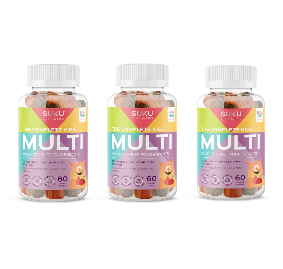Image 632115.jpg , Product 632-115 / Price $60.00 , SUKU The Complete Kids Multi Gummies 90-Day Supply from SUKU Vitamins on TSC.ca's Health & Fitness department