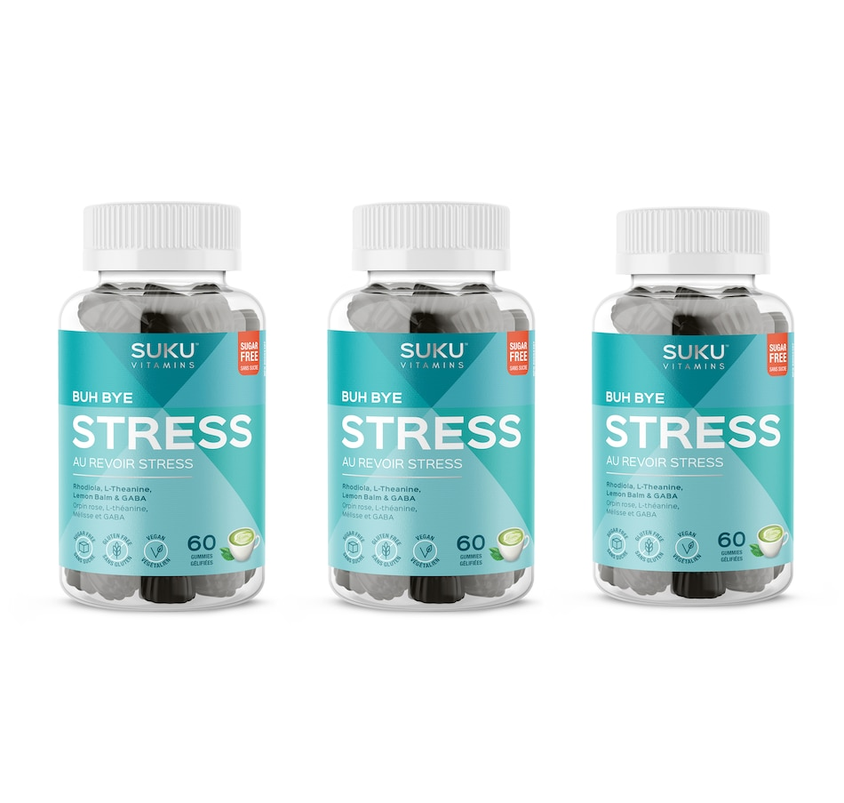 Image 632117.jpg , Product 632-117 / Price $60.00 , SUKU Buh Bye Stress Gummies 90-Day Auto Delivery from SUKU Vitamins on TSC.ca's Health & Fitness department