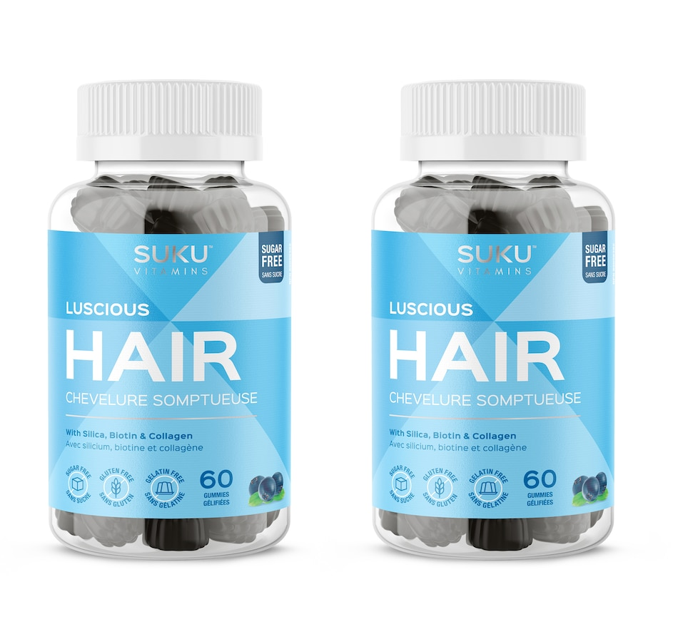 Image 632118.jpg , Product 632-118 / Price $40.49 , SUKU Luscious Hair Gummies 60-Day Supply from SUKU Vitamins on TSC.ca's Health & Fitness department