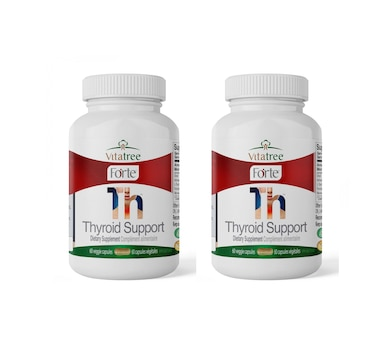 VitaTree Forte Thyroid Support 60-Days