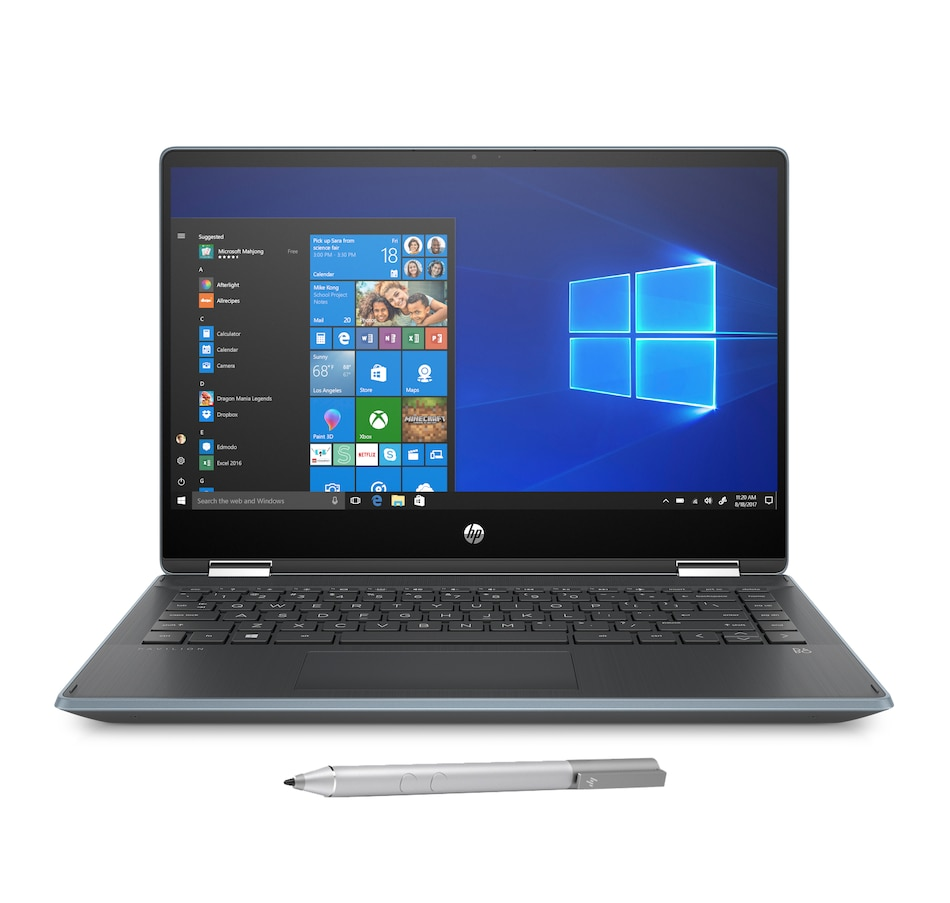 "Image 632286_BLU.jpg , Product 632-286 / Price $779.99 , HP Pavilion X360 14"" Touchscreen 2-in-1 Laptop Intel 256GB with HP Pen and 2-Year Warranty from HP - Hewlett Packard on TSC.ca's Electronics department"