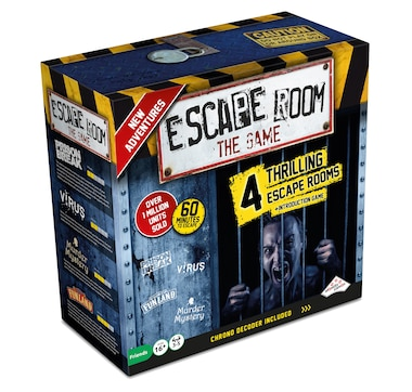 Identity Games Escape Room the Game 2 Refreshed Edition with 4 Escape Rooms