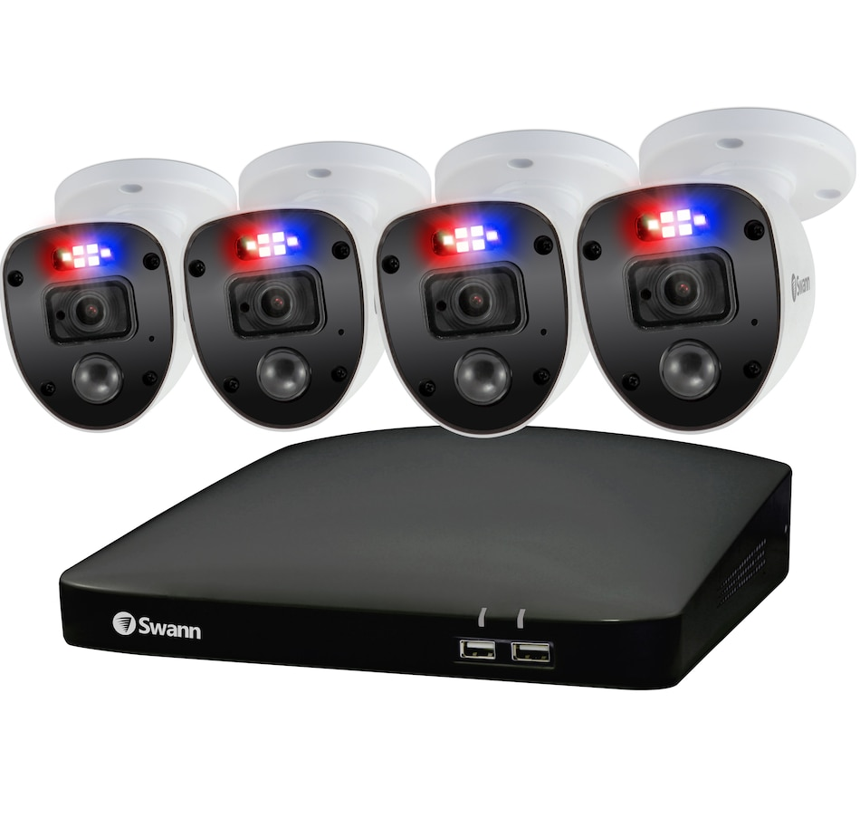 Image 632394.jpg , Product 632-394 / Price $399.99 , Swann 1080p HD 8-Channel 1TB Hard Drive DVR Security System with Four 1080p Cameras from Swann on TSC.ca's Electronics department