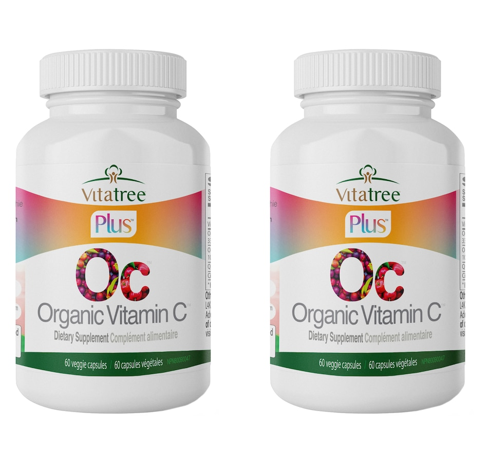 Image 632599.jpg , Product 632-599 / Price $42.99 - $119.99 , VitaTree Plus Organic Vitamin C 60-Day from VitaTree Nutritionals on TSC.ca's Health & Fitness department