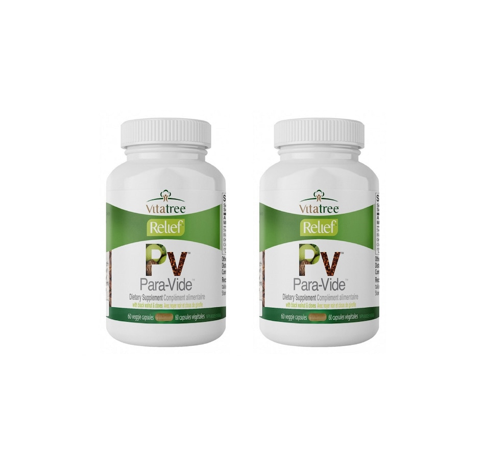 Image 632601.jpg , Product 632-601 / Price $50.99 - $141.99 , VitaTree Relief Para-Vide 60-Day from VitaTree Nutritionals on TSC.ca's Health & Fitness department
