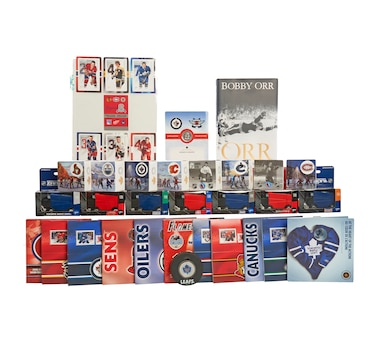30-Piece Hockey Collection