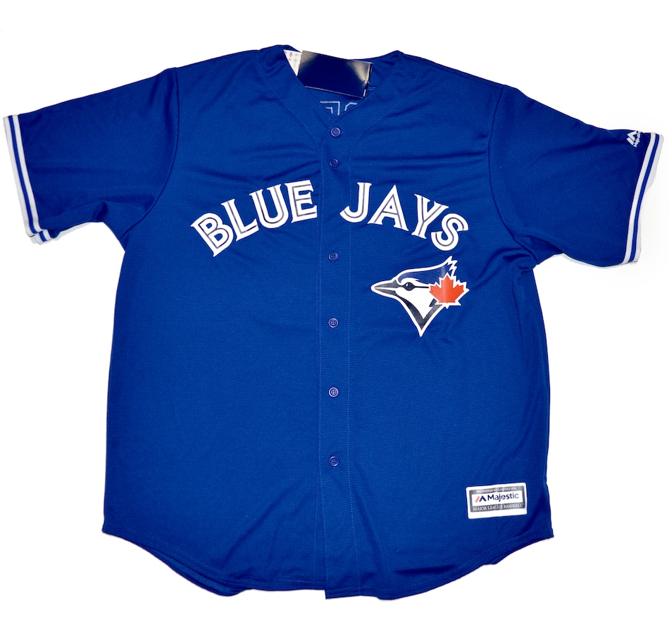 Image 632712.jpg , Product 632-712 / Price $899.99 , Autographed Vladimir Guerrero Jr. Toronto Blue Jays Away Majestic Baseball Jersey from DPI Sports on TSC.ca's Sports department