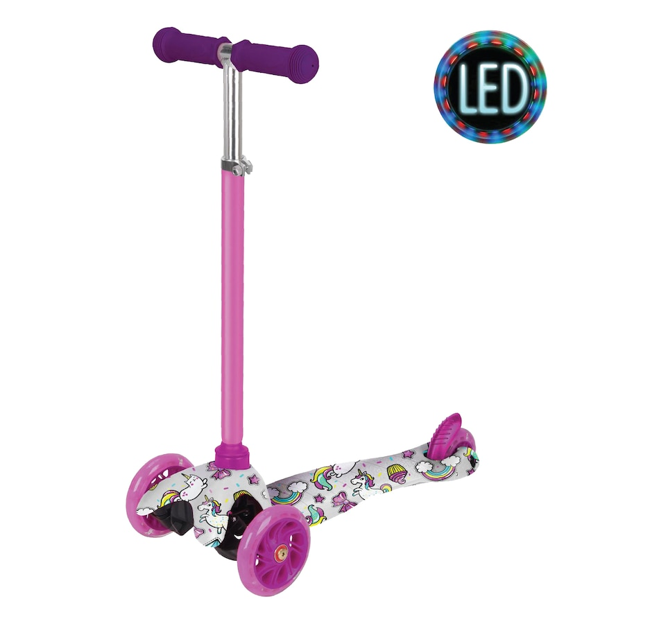Image 632792.jpg , Product 632-792 / Price $49.99 , Rugged Racers Kids Scooter with Unicorn Print Design  on TSC.ca's Coins & Hobbies department