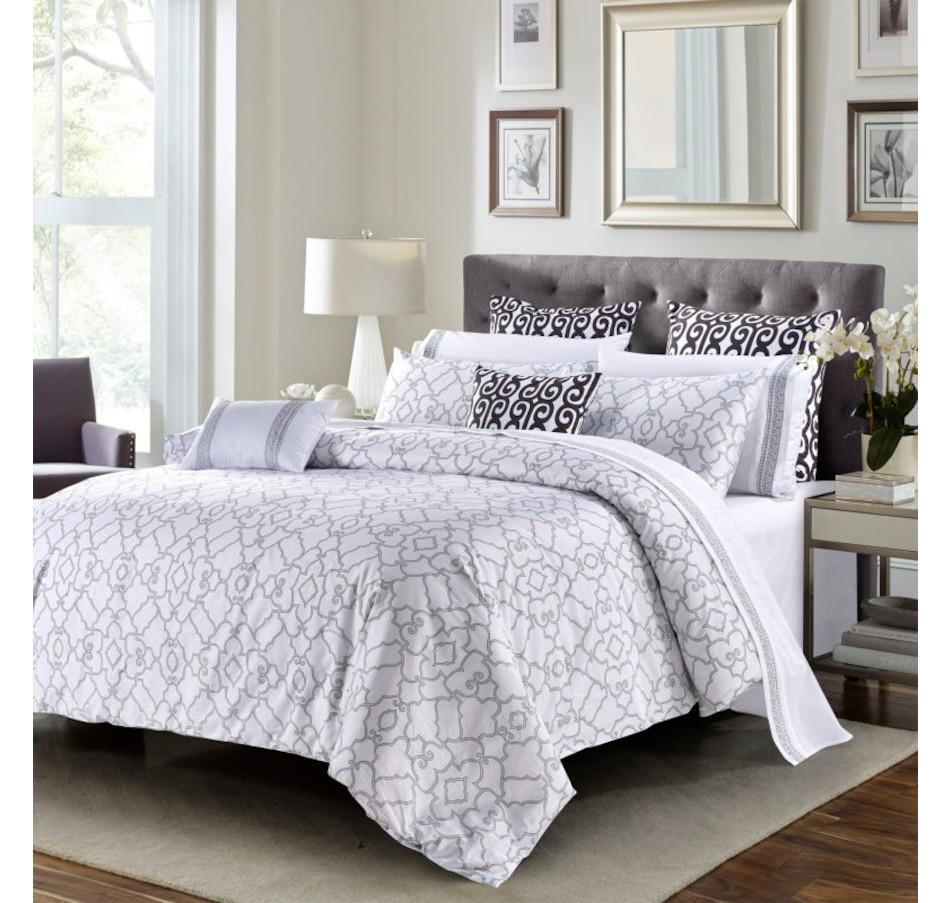 Image 633062.jpg , Product 633-062 / Price $124.95 - $142.95 , New Season Home Van Haremlique Istambul Luxury Duvet Cover Set from New Season on TSC.ca's Home & Garden department