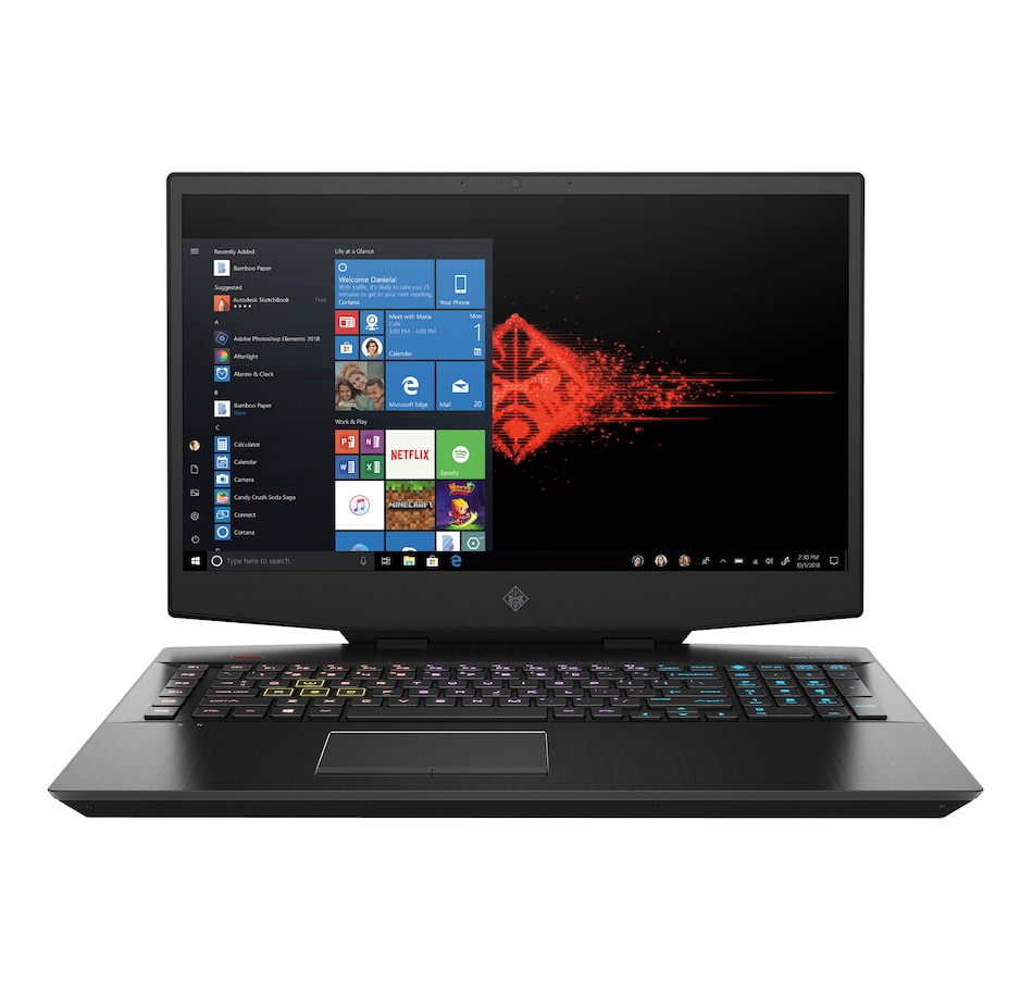 "Image 633279.jpg , Product 633-279 / Price $1,799.99 , HP Omen 17.3"" Gaming Laptop (Intel Core i7-10750H 16GB RAM 1TB SSD GeForce GTX 1660) from HP - Hewlett Packard on TSC.ca's Electronics department"