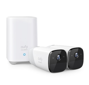 Eufy Cam2 Smart Wireless HD Security Camera x2 with HomeBase