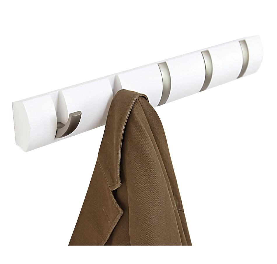 Image 634345_WHT.jpg , Product 634-345 / Price $34.95 , Umbra Flip Coat Hook from Umbra on TSC.ca's Home & Garden department