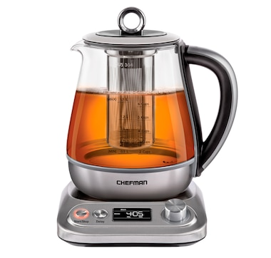 Chefman Variable Temperature Programmable 1.5 L Glass Kettle