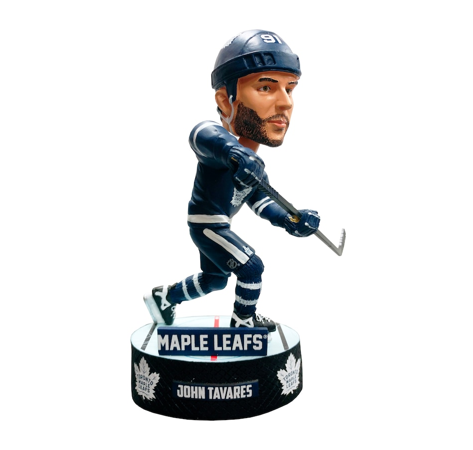 Image 638228.jpg , Product 638-228 / Price $49.99 , John Tavares Toronto Maple Leafs NHL Baller Player Bobblehead  on TSC.ca's Sports department