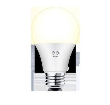 Geeni Lux 800 60W Equivalent White Dimmable A19 Smart LED Bulb