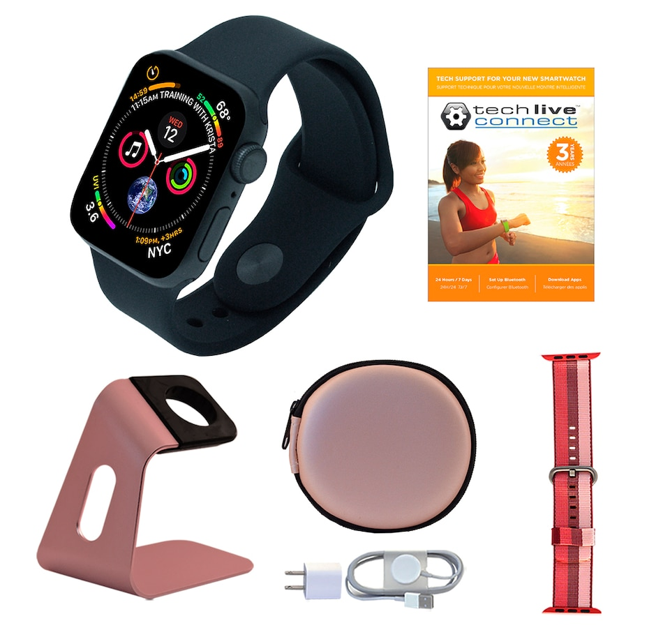 Image 638415_GBK40.jpg , Product 638-415 / Price $659.99 - $729.99 , Apple Watch Series 5 GPS Sport Band Tech Bundle with 3-Year Tech Support from Apple on TSC.ca's Electronics department