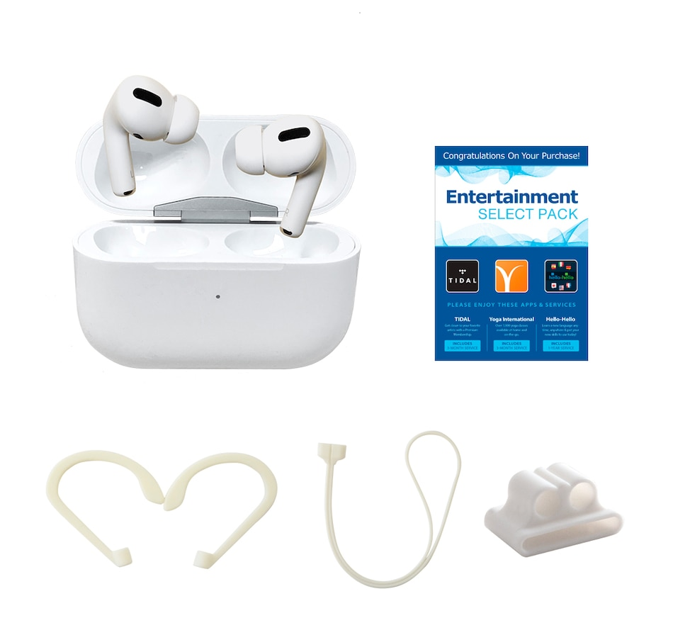 Image 638439.jpg , Product 638-439 / Price $449.99 , Apple AirPods Pro Bundle with Airhooks, Neck Strap, Case and Fun Pack from Apple on TSC.ca's Electronics department