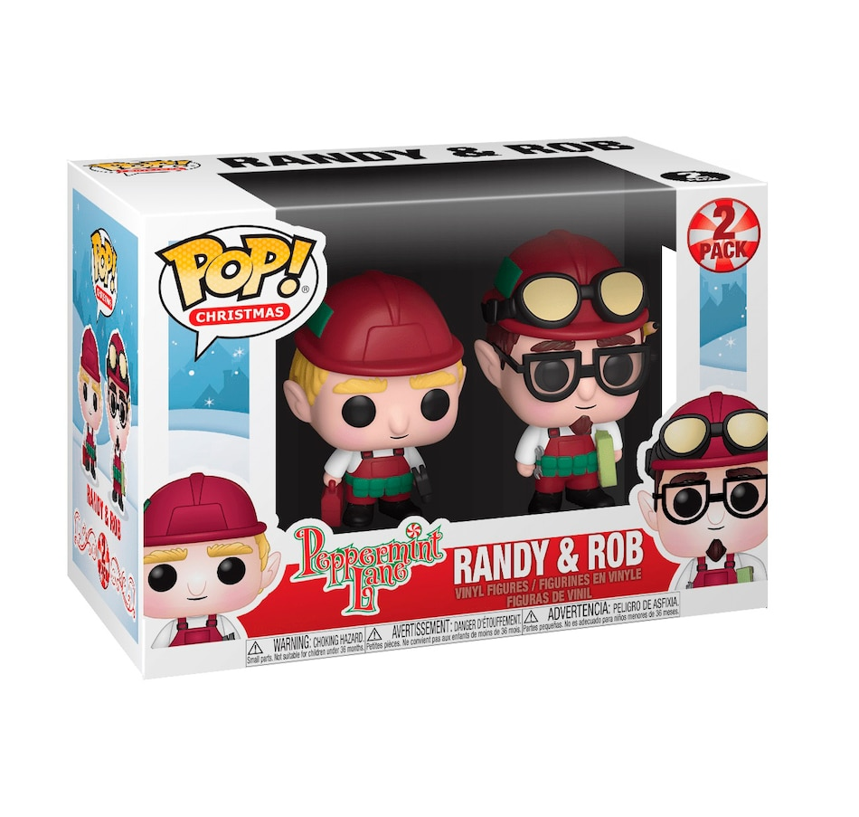 Image 638507.jpg , Product 638-507 / Price $24.99 , Funko POP! 2-Pack Christmas: Peppermint Lane - Randy and Rob from Funko Pop on TSC.ca's Coins & Hobbies department