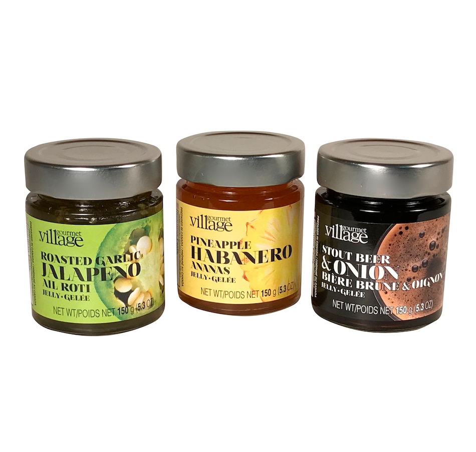 Image 638752.jpg , Product 638-752 / Price $29.99 , Gourmet du Village Savory Jelly Assortment from Gourmet du village on TSC.ca's Kitchen department